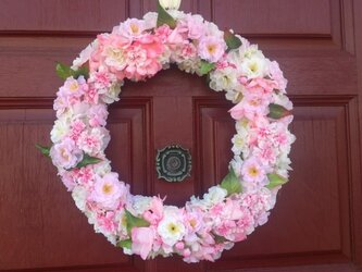 桜☆春リースの画像
