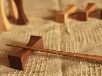 箸置き「Piece」(ピース)の画像