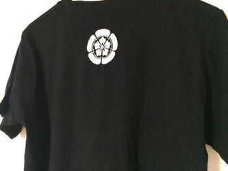 家紋Tシャツ (刺しゅう)の画像