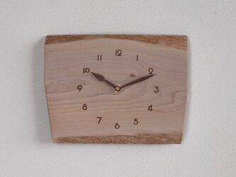 掛け時計 カエデ材1の画像