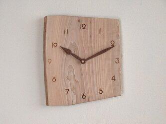 掛け時計 カエデ材2の画像
