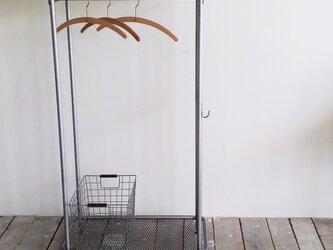 ハンガーラック・ラックポール【アイアンシェルフ/Iron shelf/アジャスター】 の画像