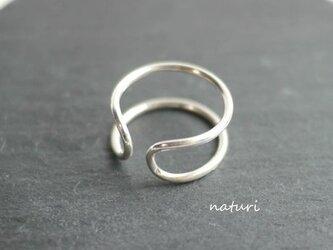 【luna】sv925 moon ringの画像