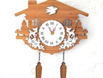 Decoylabの掛け時計 CUCKOO-Cの画像