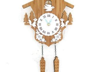 Decoylabの掛け時計 CUCKOO-Aの画像