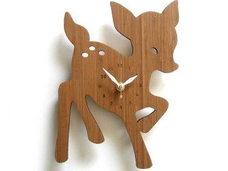 Decoylabの掛け時計 FAWNの画像