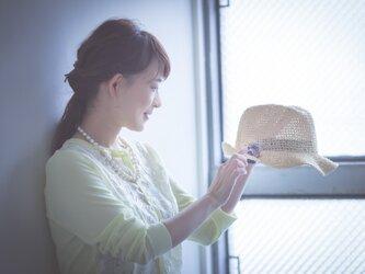 【限定品】ドライフラワーのブーケブローチの画像