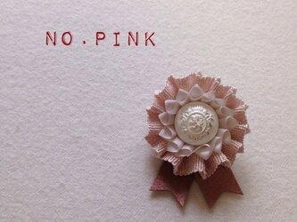 ロゼット * NO.lamé * pinkの画像