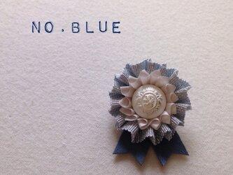 ロゼット * NO.lamé * blueの画像