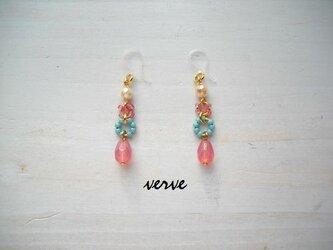 Candy drop pierced earringsの画像
