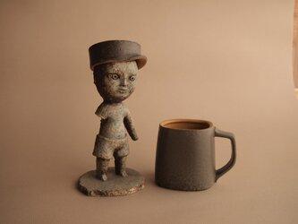 CUP & CAP   Large size    カップ&キャップ   ラージサイズ (ダークグレー)の画像