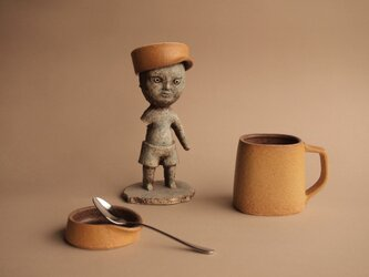 CUP & CAP   Middle size    カップ&キャップ   ミドルサイズ (マスタード)の画像