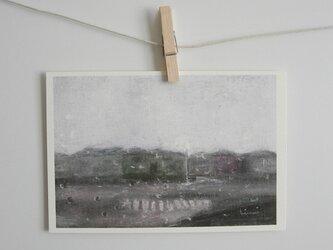 雨の日 / postcard 2枚組の画像