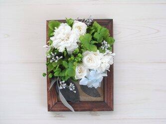 花フレーム-moriの画像