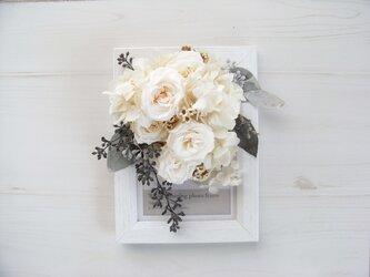 花フレーム-hakuの画像
