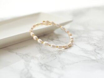 Baroque Pearl Bangleの画像