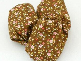お手玉 小花柄のたわら型3つセットの画像