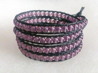 ラップブレス*purpleの画像