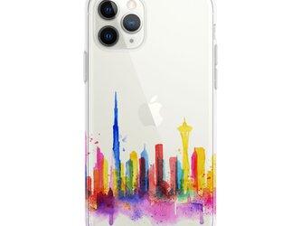 Dubai☆iPhone ケース iPhone 全機種対応 耐衝撃型可 透明 ソフト スマホケース カバー C118の画像