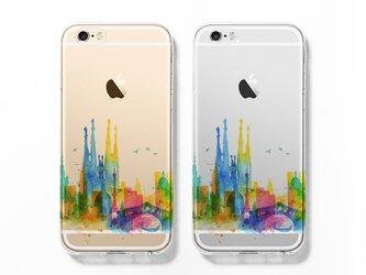 Barcelona☆iPhone ケース iPhone 全機種対応 耐衝撃型可 透明 ソフト スマホケース C119の画像
