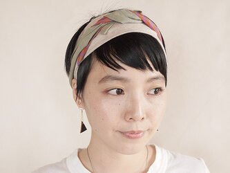 NEW▷patchwork turban <ss 3cloth-013>の画像