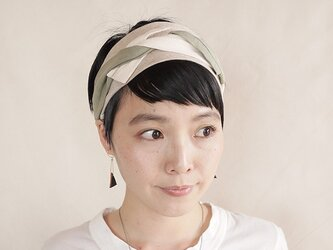 NEW▷patchwork turban <ss 3cloth-015>の画像