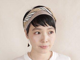 NEW▷patchwork turban <ss 3cloth-016>の画像