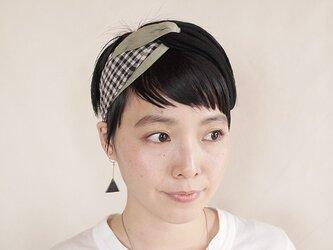 NEW▷patchwork turban <ss 3cloth-017>の画像