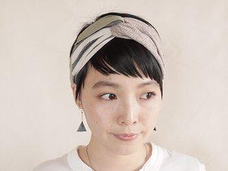 NEW▷patchwork turban <ss 3cloth-022>の画像