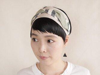 NEW▷patchwork turban <ss 3cloth-023>の画像