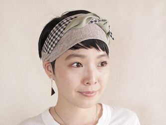 NEW▷patchwork turban <ss 3cloth-024>の画像
