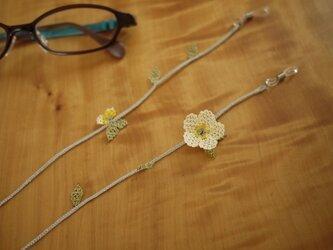 イーネオヤの眼鏡ストラップ (クリーム)の画像