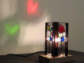 「和」 ステンドグラス アクセントランプ 2の画像