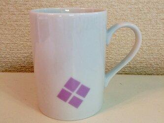 紫陽花マグカップの画像