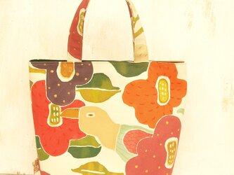 加奈様オーダー 花柄バッグの画像