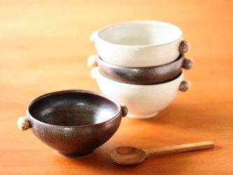 石ころのスープカップ(黒釉)の画像