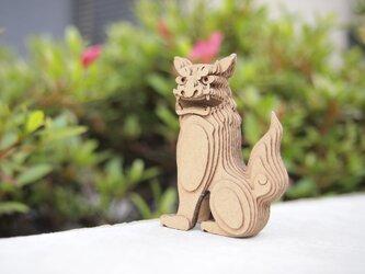 【工作キット】段々獅子-座・阿の画像