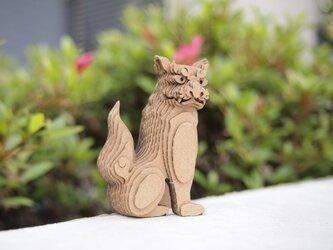 【工作キット】段々獅子-座・吽の画像