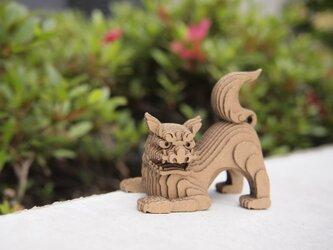 【工作キット】段々獅子-伏・阿の画像