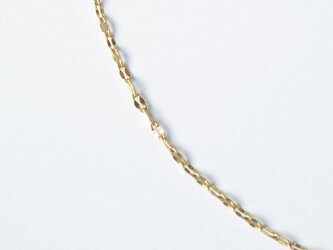 45cmネックレス Slide Chain C-912◇K18YGの画像