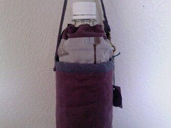 リネンのペットボトルカバー(レース)の画像