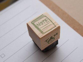 消しゴムはんこ「小さいサイズ☆ノート」の画像