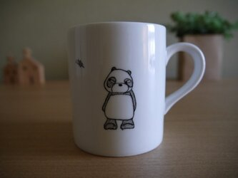 パンダのマグカップの画像