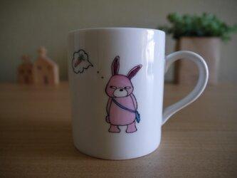 うさぎのマグカップの画像