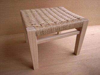座編みスツール-002の画像