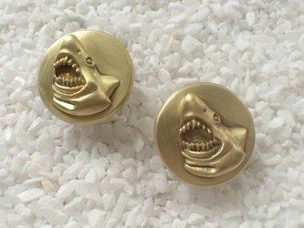 Bar end plugs - Shark (pair)の画像