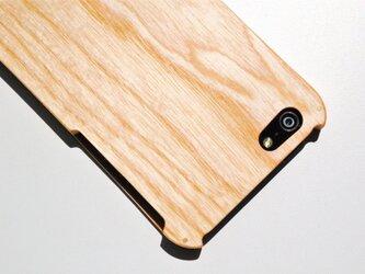 iPhone SE/5/5s ウッドケース ホワイトアッシュの画像