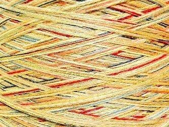 ウールミックス糸 ミックスカラー 205 gの画像