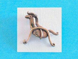 ピンブローチ 「馬」の画像