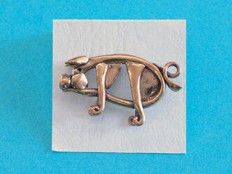 ピンブローチ 「豚」の画像